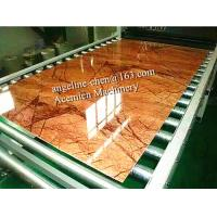 Best PVC imitation artificial stone marble board wall panel/wall sheet production line wholesale