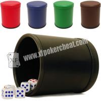 China Red Casino Dice Scanner To See Through The Dice Cup / Dice Magic Device on sale