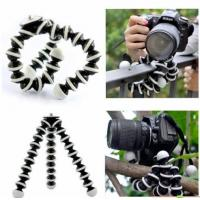 Best Large Flexible Tripod for SLR, DSLR and compact cameras - Black wholesale