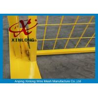Cheap Free Standing Temporary Fencing Panels For Building Site Simple Design for sale