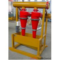 Best Oil rig drilling mud process solids control hydrocyclone desander separator wholesale
