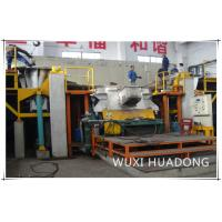 Quality Semi Automatic Vertical Continuous Casting Machine 2 Strand For Red Copper Round Billets wholesale