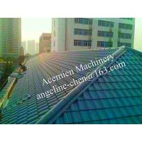 Cheap plastic PVC villa pitched roof glazed tile for sale