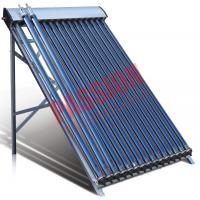 Best 20 Tubes Heat Pipe Thermal Solar Collector Flat Roof Assembly For Room Heating  wholesale