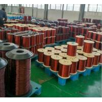 Cheap 130 - 220 Degrees Enamelled Copper Wires For Transformers / Motors / Windings for sale