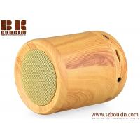 Best 2018 newest hot sell cylinder portable wireless wooden speaker wholesale