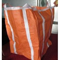 Best Two Ton Loading Orange Big Bag FIBC With Four Loops 10'' High / Fully Belted wholesale
