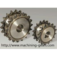 Quality Vehicle Parts Precision 316 SS Double Chain Sprocket With Heat Treatment wholesale