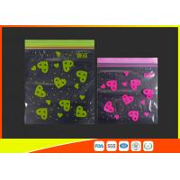 Best Waterproof Ldpe Resealable Small Ziplock Bags Colored Lip Printed Customized wholesale