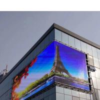 Best Fixed Outdoor LED Advertising Screens , LED Video Display Panels 16mm Pixels wholesale