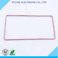 Best Electronics Copper Rfid Reader Coil , Radio Frequency Coils For Key Card Tags wholesale