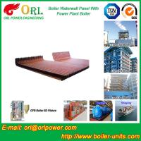 Best Biomass Boiler Water Wall Panels Anti Corrosion For Metallurgical Industry wholesale