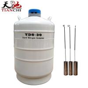Best TIANCHI Liquid Nitrogen Container YDS-30-50 Stainless Steel Storage tank Price wholesale