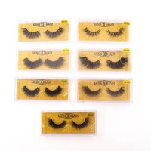 Best Custom Box Private Label Handmade 25mm 3D Mink Eyelashes wholesale