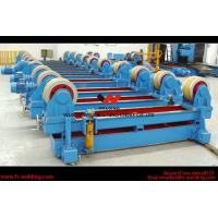 Best Automatic Pipe Welding Rotator Vessel Welding Turning Bed With Rubber Roller wholesale