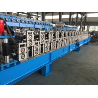 Corrugated Sheet Roll Forming Machine , Metal Roofing Forming Machine By Chain