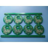 China Green Multilayer PCB Manufacturing Epoxy Resin Security Electronic PCB Board on sale