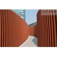 Best Sunshade Terracotta Baguette Louver For building facade decoration exterior and interior wholesale