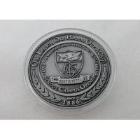 Best 2D or 3D Personalized Coins / School Campus Coin with Antique Silver, Anti Nickel, Anti Brass Plating wholesale