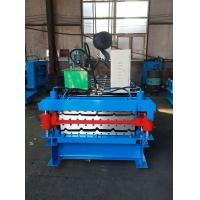 Best Double Layer IBR Channel Roll Forming Machine Computer Control 380v 50hz 3 Phase wholesale