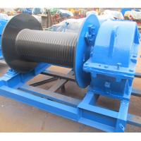 Best Industrial Electric Winch High Speed For Crane , Electric Hoist Lifting Winch wholesale