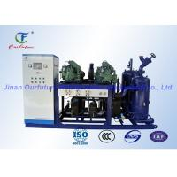 China Red Onion Cold Storage Bitzer Condensing Unit 20HP - 350HP Refrigeration Capacity on sale