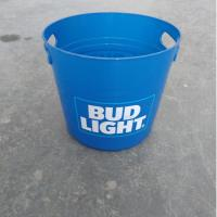 Best 8L Cheap Custom Beer Wine  Glass Clear  Plastic Ice Bucket  with Lid wholesale