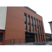Buy cheap Terracotta Rainscreen Facade Systems / External Cladding Systems Composite Panel from wholesalers