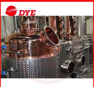 Best 100% Red Copper Alcohol Distiller , MoonshineDistillation Equipment wholesale