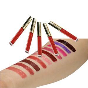 Best ODM Herbal 8ml Shimmer Lip Gloss , Waterproof Glaze Lip Gloss wholesale
