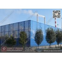 Best Coal Storage Area  Wind & Dust Suppressing Fence 9.5m height X 4.5m Structure Spacing wholesale