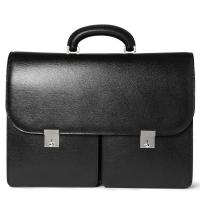 Best 15 Inches Laptop / Document Leather Laptop Bag , Mens Leather Briefcase Bag wholesale