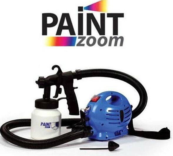 cheap paint zoom electric spray gun on tv of satisspraygun. Black Bedroom Furniture Sets. Home Design Ideas