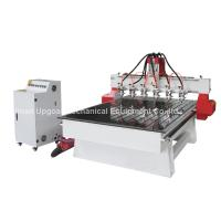 Best 6 Spindle Heads Wood Relief CNC Router with 1300*1800mm Working Area Servo Motor wholesale