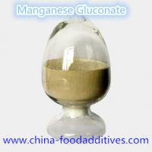China Manganese Gluconate Nutrition enhancers Food grade Food additives CAS:6485-39-8 on sale