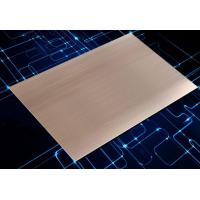 Buy cheap Rose Gold Anodized Aluminum Sheet / Decorative Aluminum Sheet For Shell from wholesalers