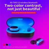 Best Wireless Headphones for Cell Phones Car Wireless Headphones with Charging Box wholesale