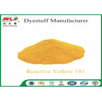 Best C I Reactive Yellow 181 Reactive Dyes Yellow P-RRN Chemicals In Pad Dyeing wholesale