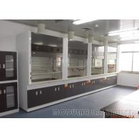 Best Chemical Laboratory Ductless Fume Hood Alkali Resistant 400W With Manual Front Window wholesale