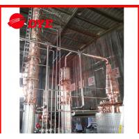 Best Semi-Automatic Copper Distiller System , Whiskey Distilling Equipment wholesale