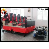Best Hydraulic Power 5D Cinema System with Motion Chairs wholesale