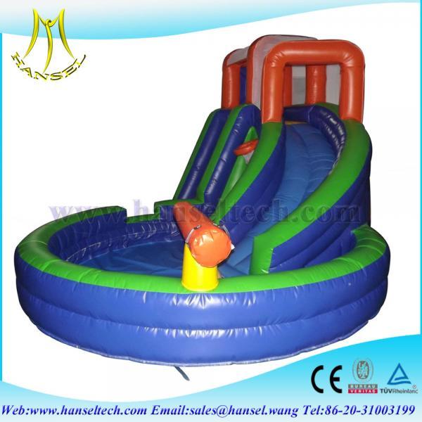 Details of hansel swimming pool slide used jumping castles - Used swimming pool slides for sale ...