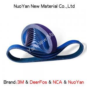 Best Zirconia Alumina Abrasive Sanding Belts  Fast Cutting Action And Long Belt Life wholesale
