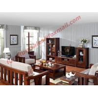 Best High Quality Solid Wooden Frame with Upholstery Sofa Set wholesale