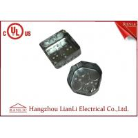 Best Square And Octangular Steel Outlet Box Metal Junction Box 1.6mm Thickness wholesale