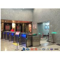 Best ZK Access Optical Swing Gate Turnstile / Controlled Access Flap Berrier System wholesale
