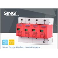 Best 1P , 2P , 3P , 4P Poles Electrical Surge Protector Device for Home , industrial wholesale