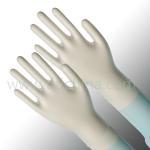 Best Small / Medium And Stretchable PVC Vinyl Exam Gloves Powder Free wholesale