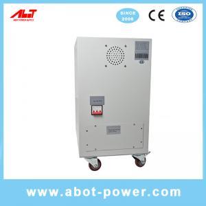 Best ABOT 3 Phase SVC TND 10KVA Servo Type Voltage Regulator AVR For CNC Machine wholesale