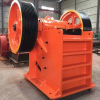 Buy cheap PE / PEX Portable Rock Mine Jaw Crusher Machine 37KW High Capacity 15 - 50tph Long Service Time from wholesalers